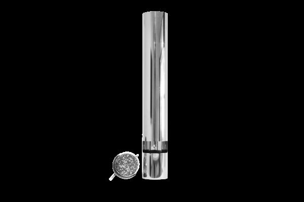 ABCAT® houten rookfilter Ø 180, lengte 1000 mm.