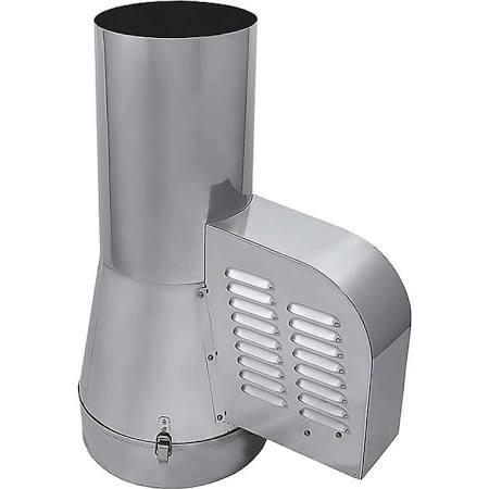 Schoorsteenventilator DN 200 mm om aan te sluiten op het stopcontact