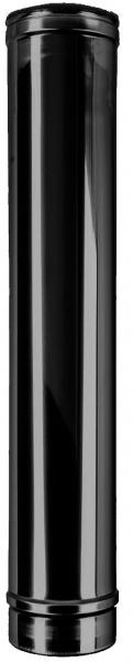 Longueur élément 1000 mm DN 150 à double paroi ISOTUBE Plus noir