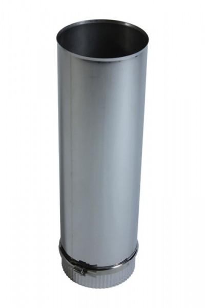 Longueur élément 500 mm DN 120 acier inoxydable à simple paroi