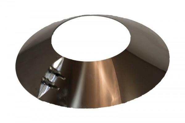 Collier de pluie DN 200 mm en acier inoxydable Holetherm
