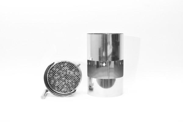 Filtre à fumée de bois ABCAT® Ø 150 Longueur 300 mm