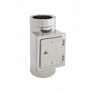 Clapet d'inspection DN 200/250 à double paroi Holetherm