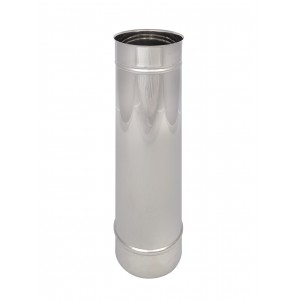 Lengte element 500 mm DN 175 enkelwandig Holetherm DN 175