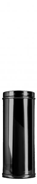 Longueur élément 300 mm DN 150 à double paroi ISOTUBE Plus noir