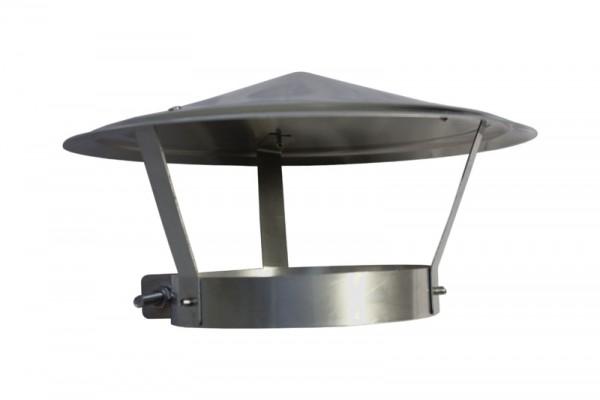 Regenkap roestvrij staal 105 - 111 mm