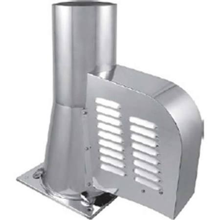 Schoorsteenventilator DN 150 mm met bodemplaat