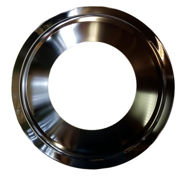 Rozet roestvrij staal 155 mm