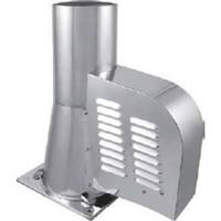Schoorsteenventilator DN 200 mm met bodemplaat