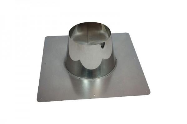 Conduit de toit DN 150/200 0°- 10° d'inclinaison du toit Holetherm
